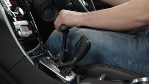 スウェーデン・オートアダプト製・手動運転装置。カロスピードメノックス