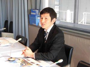 ラジオ関西に出演中の福祉車両改造の株式会社タスク代表、田村昌士