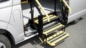 車種専用折りたたみ式補助ステップ