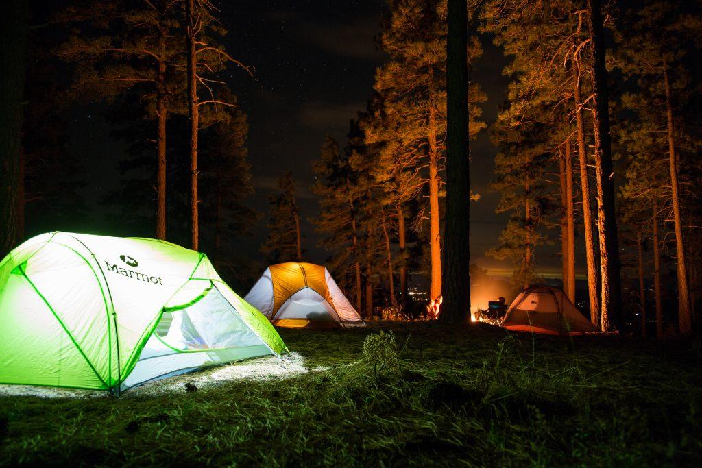 福祉車両でキャンプに行く