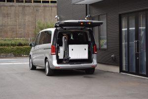 メルセデス・ベンツVクラスAを福祉車両に改造。フィオレラF360を後付け改造