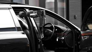 HCR国際福祉機器展の人気NO.1はイタリア・KIVI製の車いす収納リフト「ピラーリフト」です。