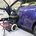フォルクスワーゲンUP!×車いすシステム「カロニークラシック」