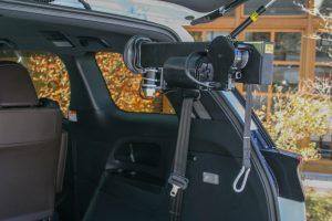 トヨタエスティマ×車いす収納装置「カロリフト40」スウェーデン・オートアダプト製