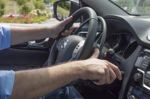 手動運転装置「アクセルリング&ブレーキレバー」
