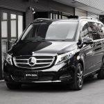 福祉車両改造事例-メルセデス・ベンツ Vクラス×電動補助ステップ「ASEI500-170」