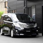 福祉車両改造事例-トヨタ アルファード×リフトアップシート「ターニーエヴォ」