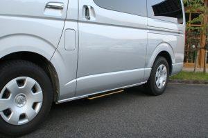 トヨタハイエース×電動補助ステップ