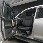 トヨタ ランドクルーザープラド×助手席リフトアップシート ターニーエヴォ
