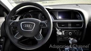 アウディ A4に手動運転装置アクセルリング&ブレーキレバーを導入