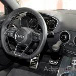 アウディ TTS×手動運転装置アクセルリング&ブレーキレバー