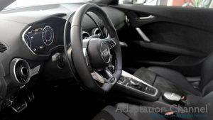 アウディ TTSに手動運転装置アクセルリング&ブレーキレバーを導入