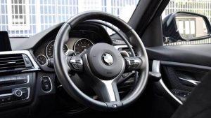 BMW 328iに手動運転装置アクセルリング&ブレーキレバーを導入