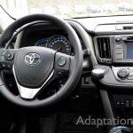 トヨタ RAV4×手動運転装置アクセルリング&ブレーキレバー