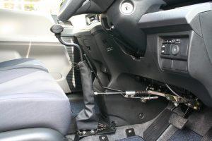 """ホンダ フリードに、ブラウンアビリティ製(旧:オートアダプト)手動運転装置""""カロスピードメノックス""""を導入。"""