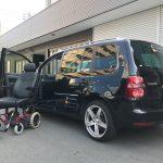 フォルクスワーゲン ゴルフトゥーラン×車いす回転シートシステム カロニー