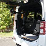 ダイハツ ウェイク×車いす収納装置 カロリフト40