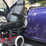 フォルクスワーゲン UP!×車いす回転シートシステム カロニー