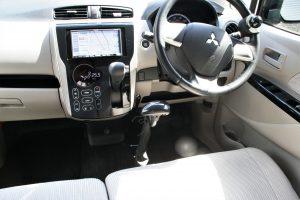 """三菱 ekワゴンに、ブラウンアビリティ製(旧:オートアダプト)手動運転装置""""カロスピードメノックス""""を導入。"""