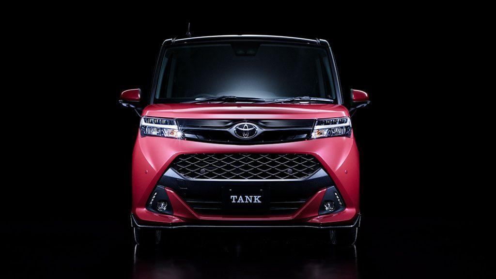福祉車両改造-トヨタ TANK×移乗プレート 電動ティップアッププレート