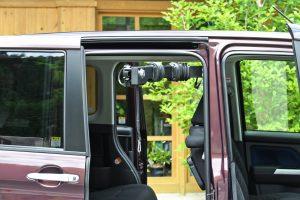 【車いす収納装置】車いすの積み込みについての相談。トヨタTANK×ピラーリフト