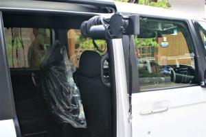 【車いす収納装置】車いすの積み込みについての相談。ホンダN BOX×ピラーリフト