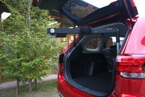 【車いす収納装置】車いすの積み込みについての相談。三菱アウトランダー×カロリフト40
